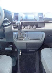 Im VW T5 California mit DSG