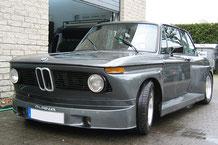 BMW 2002 Alpine mit Hifi Showausbau aus GFK