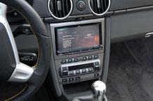 clarion nx806 navigation mit dab+ und carplay im porsche boxster 987 statt pcm2