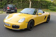 Porsche boxster 987 mit clarion navigation und focal hifi aussenansicht