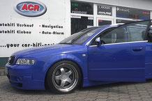 Audi A4 B6 mit Hifiumbau