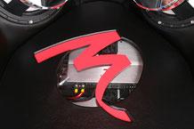Focal FPS-Verstärker unter einer Plexiglasabdeckung im GFK-Ausbau