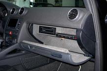 DVD-Player im Handschuhfach vom Audi A3 Sportsback