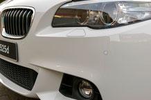 PDC Sensoren an der vorderen BMW Stoßstange F11