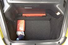 porsche 987 kofferraum voll nutzbar mit verstärker von focal und doppelten boden