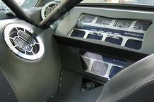 fertiger GFK Showausbau mit Lack und Leder im BMW 2002 Alpina