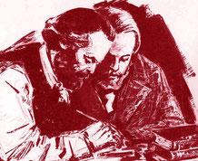 Marx e Engels, teorici del materialismo storico