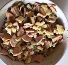 Kein Hund, kein Schlaf, nur Wurst-Käse-Salat