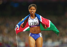 Olympiasiegerin Johanna Benson
