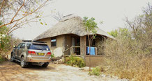 Unser Häuschen in der Nunda Lodge
