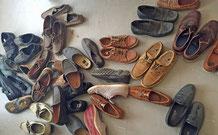 So, meine lieben Schuhe, jetzt werdet ihr dann bald von anderen Füssen getreten.