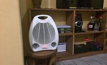 Mein Öfeli erhöht den Gemütlichkeitsfaktor im kalten Haus ganz wesentlich