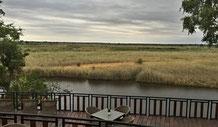Ausblick von der Namushasha Lodge