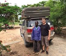 Mein angolanischer Gärtner und ich
