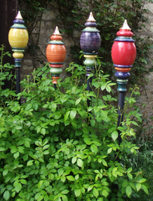 Gartenkugeln, Keramik