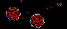 Radioaktiver Zerfall von Uran (U238)