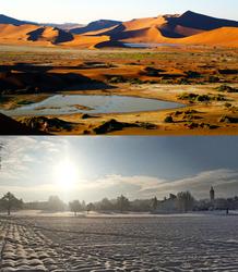 Leben in zwei Welten: Namibia - Schweiz
