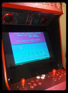 Borne d'arcade classique
