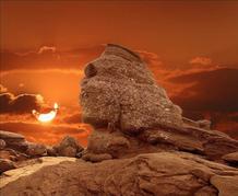 Cliquer sur l'image : Le Sphinx des Bucegi - Roumanie