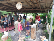 Bildhauerworkshop in Unterach LEBENS-KUNST FELLINGER