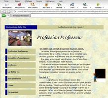 Un exemple de site