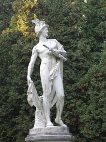 Statue d'Hermès à Vienne (Autriche)