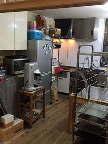 キッチンもあります。(飲食店営業許可・菓子製造許可取得。)