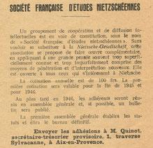 Geschichte Nietzsch Rezeption in Frankreich