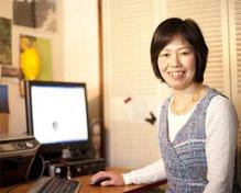 仕事中の木村素子