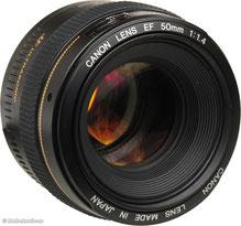 CANON 50mm en 1.4