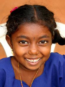 Die pfiffige Magalakshmi. Tochter von Shanjiwi.