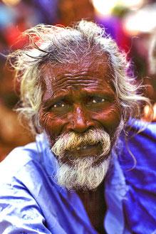 Älterer Irular Adivasi