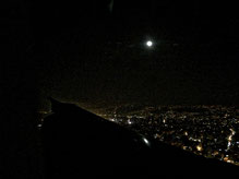 Home is where the moon is. Anflug auf Beirut.