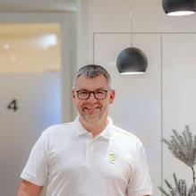 Uwe Lehfeldt, staatlich geprüfter Physiotherapeut.