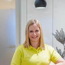 Stefanie Anreither, staatlich geprüfte Physiotherapeutin.