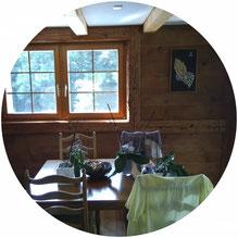 Ein Innenausbau der Tscharner Holzbau Abteilung