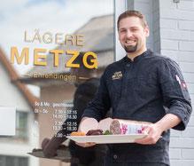 Patrick Schmid, der Geschäftsleiter und gelernter Koch, Landwirt und Metzger