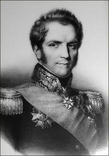 Général Grundler, chef de l'état-major du 11ème corps de la Grande Armée
