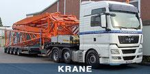 Schwertransporte - Krane