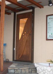 手作り 木製 ドア