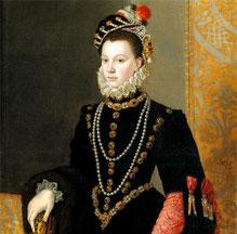 Елизавета Валуа, портрет работы Ф. Клуэ.