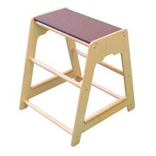 Podium Edugym en bois pour jeux d'équilibre enfants. Matériel d'équilibre enfant à acheter pas cher. Promouvoir l'équilibre et la coordination des enfants avec ce matériel de jeu de qualité en bois.
