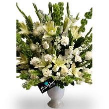 Flores a domicilio para un funeral