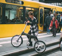 Lassen Sie sich mehr über die Vorteile von Falt- und Kompakt e-Bikes in einem e-motion e-Bike Shop erzählen