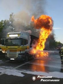 Das Bild stammt von der Feuerwehr Feuchtwagen