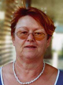 1. Kassiererin des Bürgervereins Lerchenau, Christine Fraß