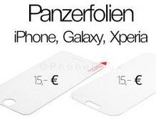 Panzerfolien für iPhone und Galaxy