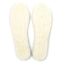 semelles en laine naturelle de mouton dessous feutrine légère chaude respirant respirante anti transpirant lavable main souple