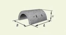 Утяжелитель бетонный сборный кольцевого типа 2УТК