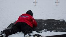 erstes Schneetraining